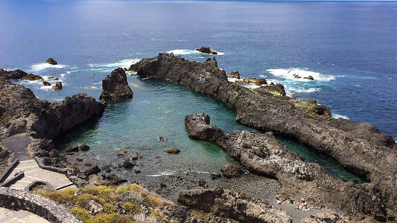 Teneriffa Nature Pool north