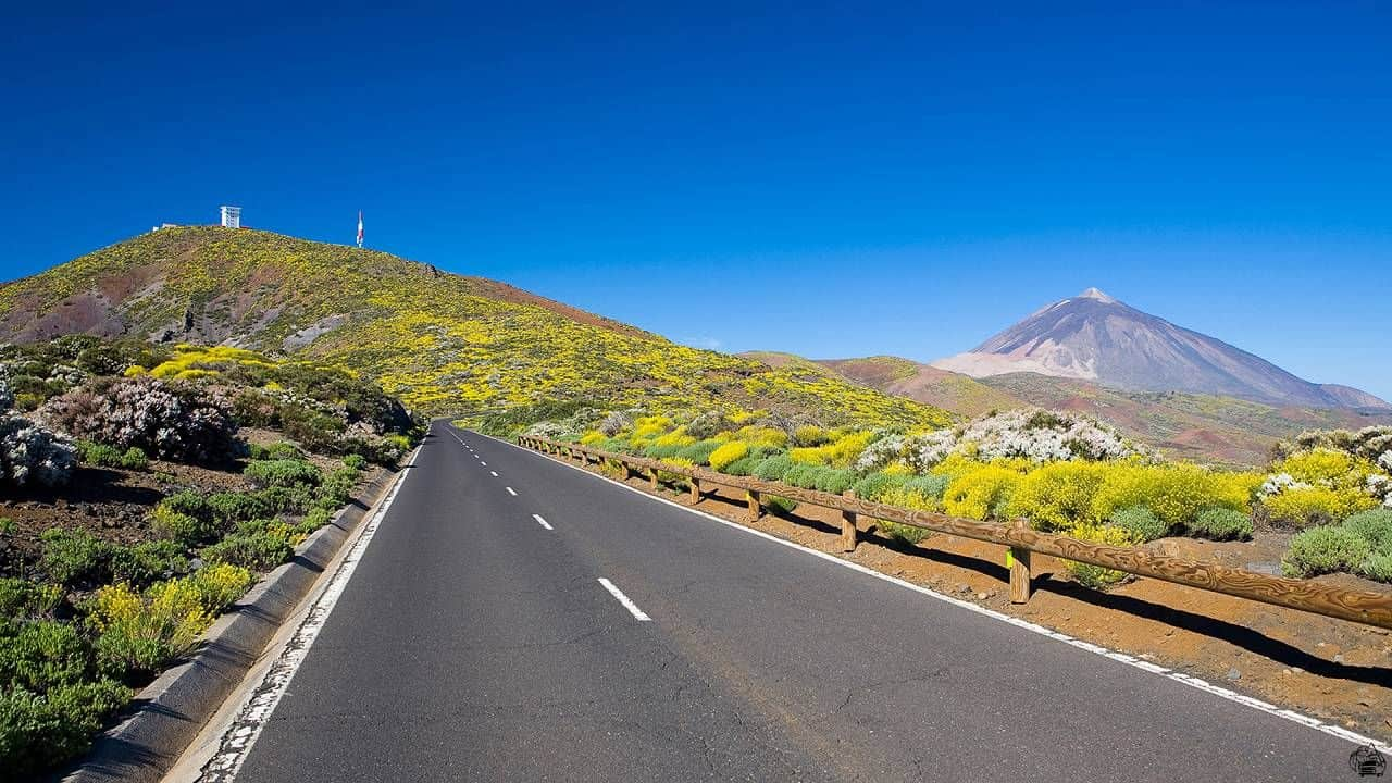 Teneriffa Teide Road